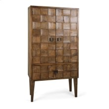Cahan Wood Tile Armoire