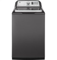 GE 5.8cu. ft. stainless steel capacity washer
