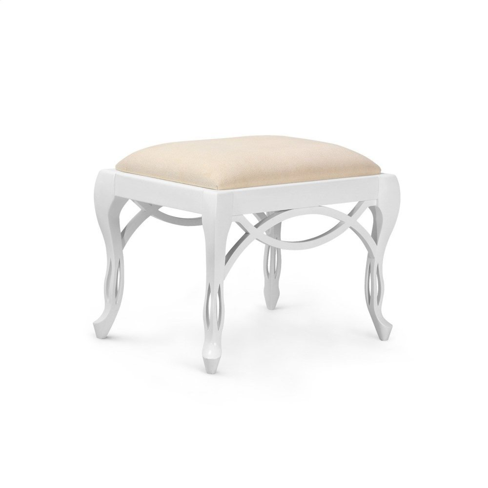Loop Stool, White