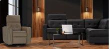 Sydney Swivel and rocking motion chair (043; Wood base - Tea T37)