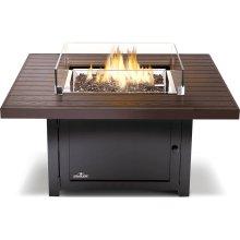 Muskoka Square Patioflame® Table , Bronze , Propane