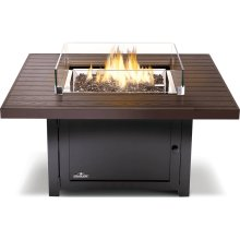Muskoka Square Patioflame Table , Bronze , Propane
