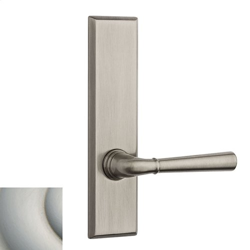 Satin Nickel with Lifetime Finish Traditional L027 Lever Screen Door