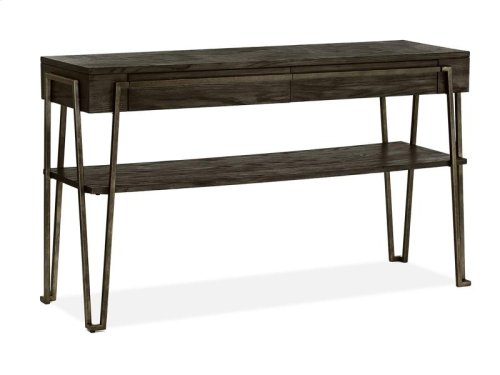 Open Metal Sofa Table