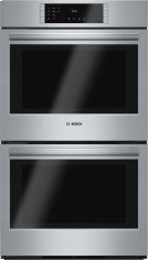 "800 Series, 30"", Double Wall Oven, SS, EU conv./Thermal, Touch Control Product Image"