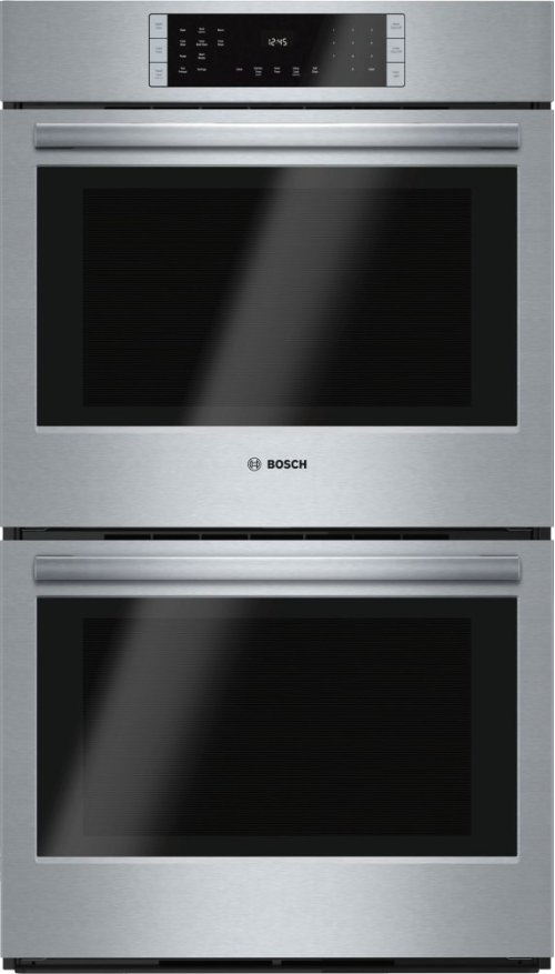 "800 Series, 30"", Double Wall Oven, SS, EU conv./Thermal, Touch Control"