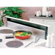 "30"" Stainless Steel 500 CFM Downdraft with Stainless Steel cover"