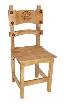 Poker Chair With Star