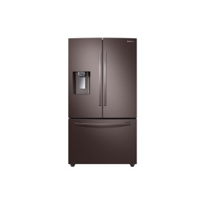 Samsung28 cu. ft. 3-Door French Door, Full Depth Refrigerator with CoolSelect Pantry in Tuscan Stainless Steel
