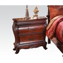 Nightstand W/marble Top