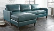 "St.Croix Right Arm Loveseat, 69""x36""x36"" w/One Accent Pillow Product Image"