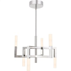 Elevation Chandelier in Polished Chrome