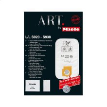 SB LL Genuine Miele FilterBag Type LL for ART by Miele vacuum cleaners.