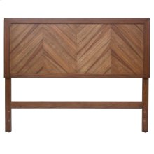 Piero KD Chevron Queen Headboard, Monterey Brown