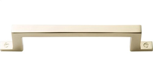 Campaign Bar Pull 3 3/4 Inch - Polished Brass