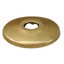 "Polished Brass Escutcheon 1/2"" CTS - 5/8"" OD"