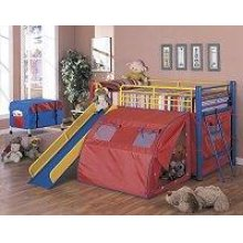 Multi-color Themed Red, Blue, and Yellow Loft Bed
