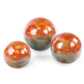 Turquoise Orange Ball (OT) (Set 3 )