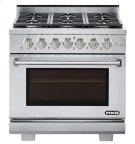 """NXR 36"""" Professional Range with Six Burners, Convection Oven, Natural Gas (AK3605 - Culinary Series) Product Image"""