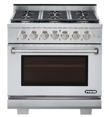"""NXR 36"""" Professional Range with Six Burners, Convection Oven, Natural Gas (AK3605 - Culinary Series)"""
