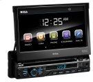 """Single-DIN, DVD Player 7"""" Motorized Touchscreen Detach Panel Bluetooth Product Image"""