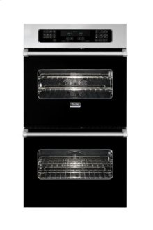 """30"""" Double Custom Electric Touch Control Select Oven, No Brass Accent"""