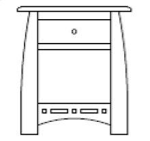 Hayworth 1 Drawer Nightstand