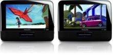 "7"" LCD Dual DVD players Portable DVD Player"