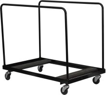 Black Folding Table Dolly for Round Folding Tables