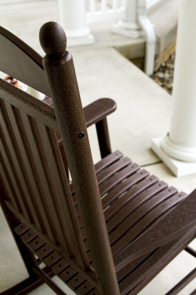 Black Jefferson Rocking Chair