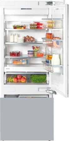 KF 1803 SF MasterCool fridge-freezer with large storage space and high-quality features for exacting demands.