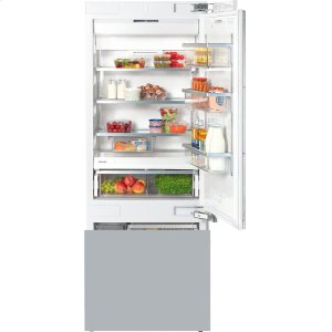 MieleKF 1803 Vi MasterCool fridge-freezer with large storage space and high-quality features for exacting demands.