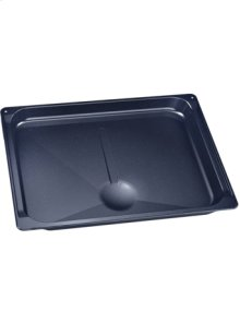 Broil pan, enameled