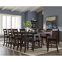 Holbrook Transitional Antique Tobacco Five-piece Dining Set