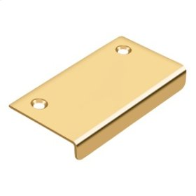 """Drawer, Cabinet, Mirror Pull, 3""""x 1-1/2"""" - PVD Polished Brass"""