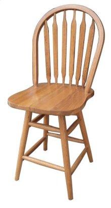 "24"" Arrowback Barstool"
