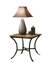 Emerald Home Innsbruck End Table Medium Brown T4721