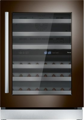 """24"""" UNDER-COUNTER WINE RESERVE WITH GLASS DOOR T24UW900RP"""