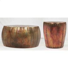 Coffee Table - Hammered Copper Finish