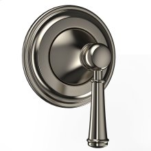 Vivian Three-Way Diverter Trim with Off - Lever Handle - Brushed Nickel