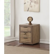 Brighton 2 Drawer Rolling File Cabinet