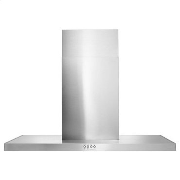 "36"" Stainless Steel Wall Mount Flat Range Hood - stainless steel"