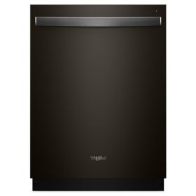 Whirlpool® Smart Dishwasher with Stainless Steel Tub - Black Stainless
