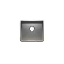"UrbanEdge® 003604 - undermount stainless steel Kitchen sink , 18"" × 16"" × 8"""
