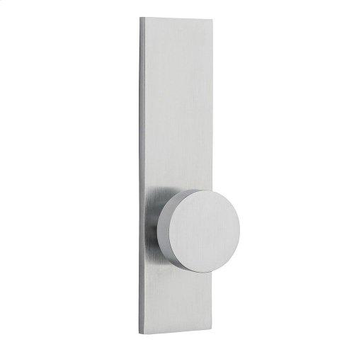 Satin Chrome Contemporary K010 Knob Screen Door