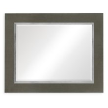 "Flannel & Silver ""Homespun"" Mirror"