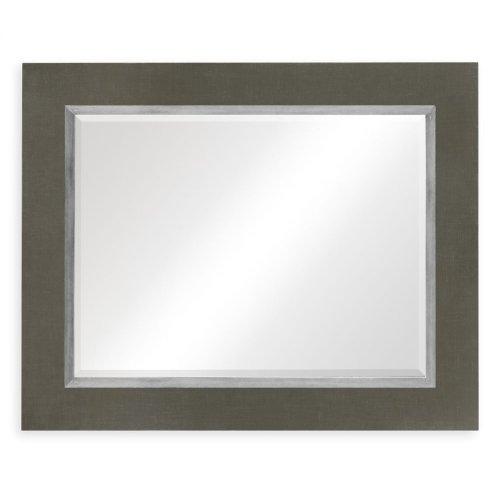 "Flannel & Silver ""Homespun"" Mirror"