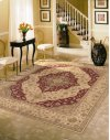 Heritage Hall He03 Lac Round Rug 9' X 9'