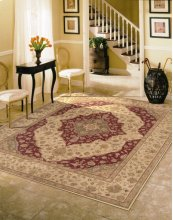 HERITAGE HALL HE03 LAC RECTANGLE RUG 3'9'' x 5'9''