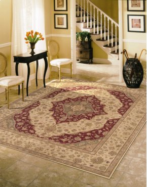 HERITAGE HALL HE03 LAC RECTANGLE RUG 2'6'' x 4'2''